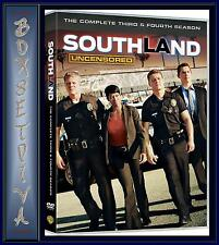 SOUTHLAND - COMPLETE SEASONS 3 & 4 **BRAND NEW DVD **
