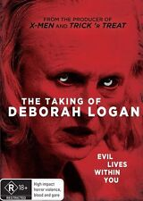 The Taking Of Deborah Logan DVD - New/Sealed Region 4 DVD