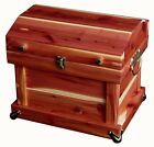 """Amish Handcrafted 12"""" Cedar Chest Trunk Dome Top Solid Cedar"""