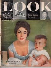 1955 LOOK June 28 - Shangri-La; Duke Snider - Brooklyn Dodgers; Elizabeth Taylor