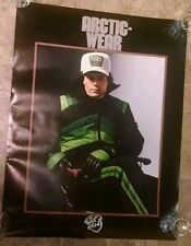 Vintage Arctic cat arcticwear snowmobile dealer poster sign 28x22