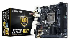 GIGABYTE GA-Z170N-WIFI LGA 1151 Intel Z170 USB 3.0 Mini ITX Intel Motherboard