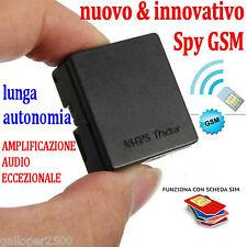 GSM SPY A8 MICROSPIA CIMICE AMBIENTALE NUOVO MODELLO MICROFONO TRASMETTITORE