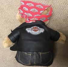 Harley Davidson 100th Anniversary Open Road Teddy Bear NWOT