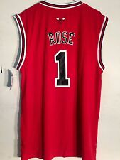 Adidas NBA Jersey Chicago Bulls Derrick Rose Red sz 3X