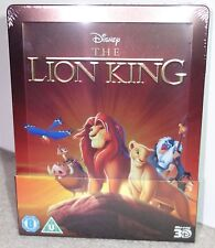 Lion King - 3D & 2D Steelbook - Blu-ray Disney Zavvi Exclusive UK - NEW