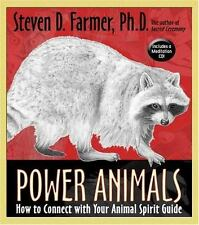 Power Animals How to Connect with Your Animal Spirit Guide Hardback with CD