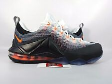 NEW Nike LeBron XII 12 Low LMTD AIR MAX 95 ORANGE BLACK 812560-081 sz 9.5