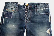 NEU - Hugo Boss - W34 L32 - Orange 25 Repair -  Regular Straight Jeans - 34/32