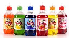 Delicious 6 pack of Slush Syrup (6 flavours x 330ml) Like slush puppy/puppie