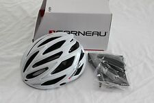 New Louis Garneau Women's Sharp Road Bike Helmet White Small Medium Vented