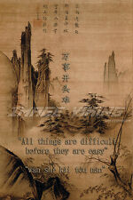CONFUCIUS POSTER PHOTO PRINT QUOTE INSPIRATION MOTIVATION CHINESE WISDOM ZEN