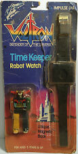 (TAS031857) - 1985 Impulse Voltron Time Keeper Robot Watch Magnetic Back