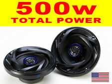 "CAR AUDIO ALTOPARLANTI 5,25 ""Pollici 13cm 2 VIE co assiale PORTA MENSOLA TWEETER BASS OFFERTA!"