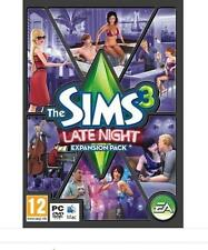 The Sims 3 Late Night Expansion Pack Original Sealed New in Box PC/MAC Game DVD