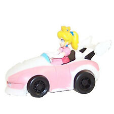 Mario Kart Wii - Pull Back Racers - ROADSTER PRINCESS PEACH (2 inch) - New
