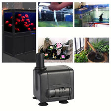 New Submersible Water Pump Aquarium Pond Fish Tank Powerhead Fountain Hydroponic