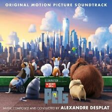 THE SECRET LIFE OF PETS CD - ORIGINAL MOTION PICTURE SOUNDTRACK (2016) - NEW