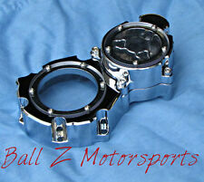 Hayabusa B-King Clear See Through Chrome Wicked Smooth Starter Cover 03-07-08-16