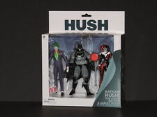 DC Comics Hush Batman / Joker / Harley Quinn figure 3 pack set New in Box NM/M