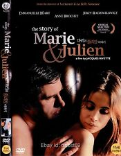 The Story of Marie and Julien (2003, Jacques Rivette) DVD NEW