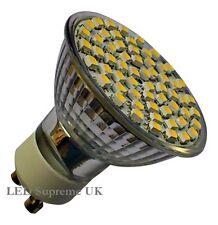 GU10 60 SMD LED 330LM 3.5W White Bulb ~50W