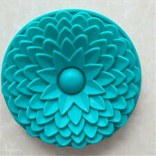 Large Silicone Sun Flower Baking Cake  Mold Mould Bakeware Kitchen Cake tool New