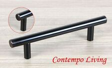 "6"" Solid Kitchen Cabinet Bar Pull Handle With Oil Rubbed Bronze Finish ORB"