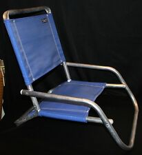 Royal Blue Rio Beach Collection Aluminum Chair Short Low Camping