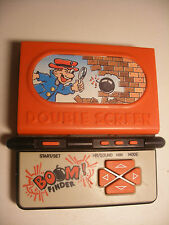 game & watch 1987 Wide hand Double Screen electronic Game jeu LCD BOOM FINDER