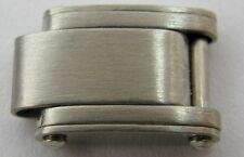 Rolex oyster 6634 riveted bracelet  link with spring, all stainless steel 7.7 mm