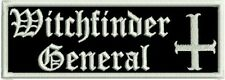 WITCHFINDER GENERAL NWOBHM DOOM HEAVY METAL PATCH EMBROIDERED NEW