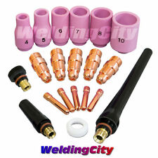 TIG Welding Accessory Kit Stubby Collet Setup Torch 17/18/26 T23 | US Seller