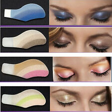 Random 6 X Eyeshadow Instant Eye MakeUp Temporary Tattoo Transfer Sticker Shade