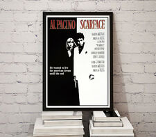 Movie Poster 35x50 cm Scarface Al Pacino