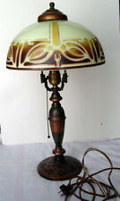 Highly Sought After PL&B Co Pittsburgh Pilabrasgo Art Nouveau Table Lamp