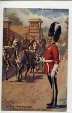 (Ls483-383) Harry Payne, Sentry, A Squadron in Khaki Drill Order 9980, VG,