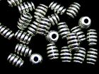 25 x 7mm Tibetan Silver Tube Spacer Beads Jewellery Craft Findings D36