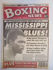 Boxing News 10 Dec 1993 Toney Tubbs Kevin Kelley McCracken Armour Core-Harris