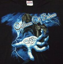 CHILDREN OF BODOM  - Something Wild 2009 Black Band Tshirt metal rock death XL