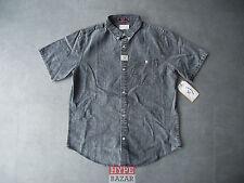 FOURSTAR CLOTHING BONGO HEMD/ SHIRT NEU WASHED BLACK GR:L 4-STAR CLOTHING