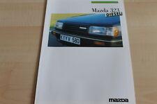 116437) Mazda 323 - Diesel - Prospekt 07/1986
