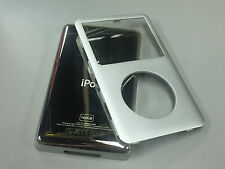 New iPod 6th 6.5 7th Gen Classic Silver Front Faceplate 160GB Back Cover Housing