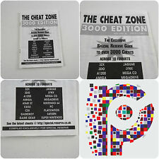 The Cheat Zone 3000 Edition Volume 4 Special Reserve Guide Amiga CD32 CDI PC 64