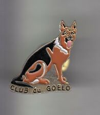 RARE PINS PIN'S .. ANIMAL CHIEN DOG BERGER ALLEMAND CLUB GOELO 22 ~CX