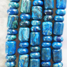 GSAM570 Beautiful 1 strand Blue Crazy Lace Agate loose bead 15.5 inch