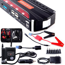 High Power Jump Starter Car Battery Charger 12V 68800mah 300PSI Air Compressor Y
