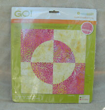 "Accuquilt GO! Fabric Cutting Die ""Drunkard's Path"" #55338 ~ NEW"