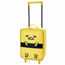 SANRIO GUDETAMA MINI TRAVEL LUGGAE BAG CARRY-ON SUITCASE FOR CHILD 534803