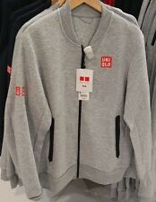 UNIQLO x Novak Djokovic 2017 Australian Open M Track Warm-Up Jacket Stretch NEW!